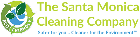 The Santa Monica Cleaning Company Logo